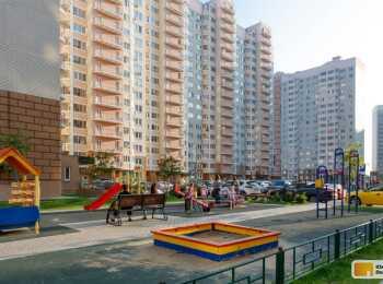Пешеходные дорожки, зоны отдыха, игровые площадки